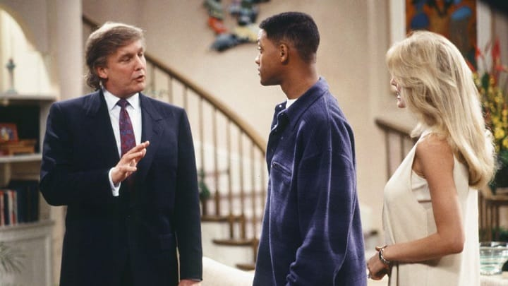 Donald Trump dans le Prince de Bel Air