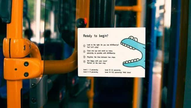 Les règles du jeu dans le tram d'Amsterdam