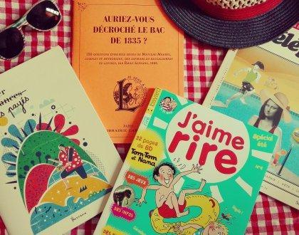 Sélection de cahiers de (vraies) vacances par BEJOUE