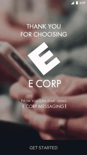 Messagerie E CORP