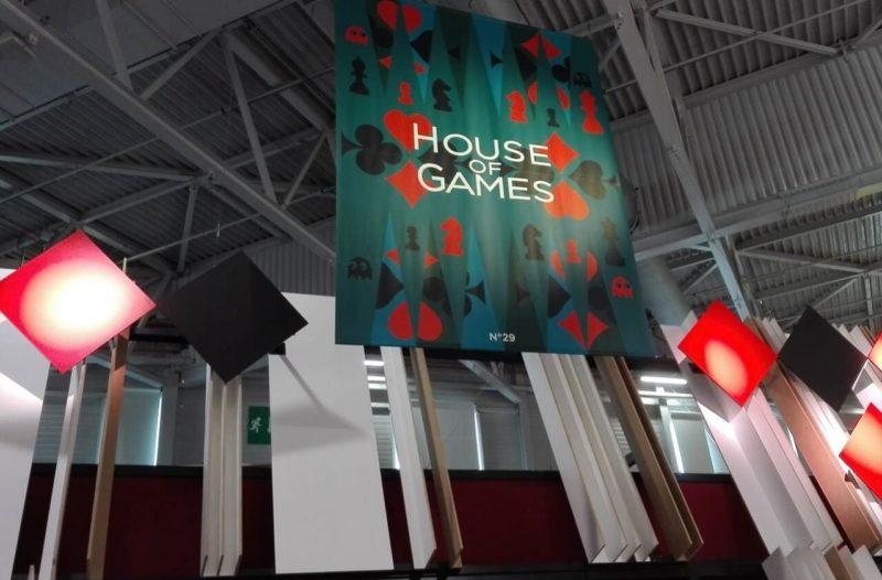 L'entrée de la Maison des Jeux au Salon MAISON&OBJET 2016.