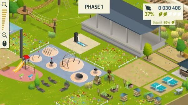 Exemple d'aménagement du parc chappelle chaudron
