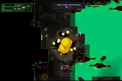 Capture d'écran du jeu Neurovoider