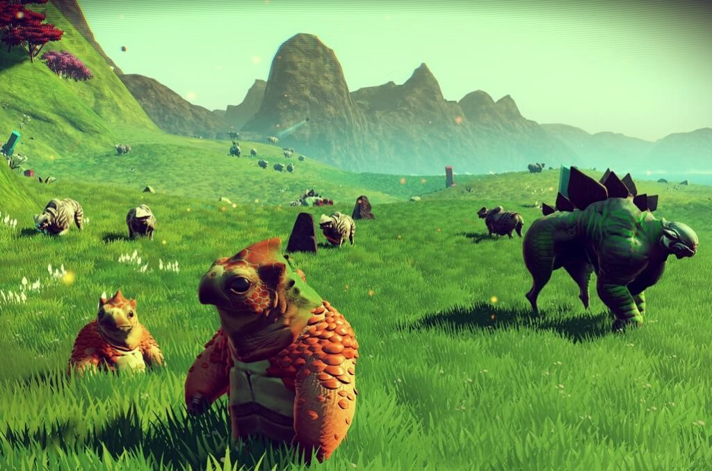 Capture d'écran de No Man's Sky