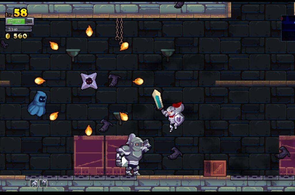 Capture d'écran de Rogue Legacy