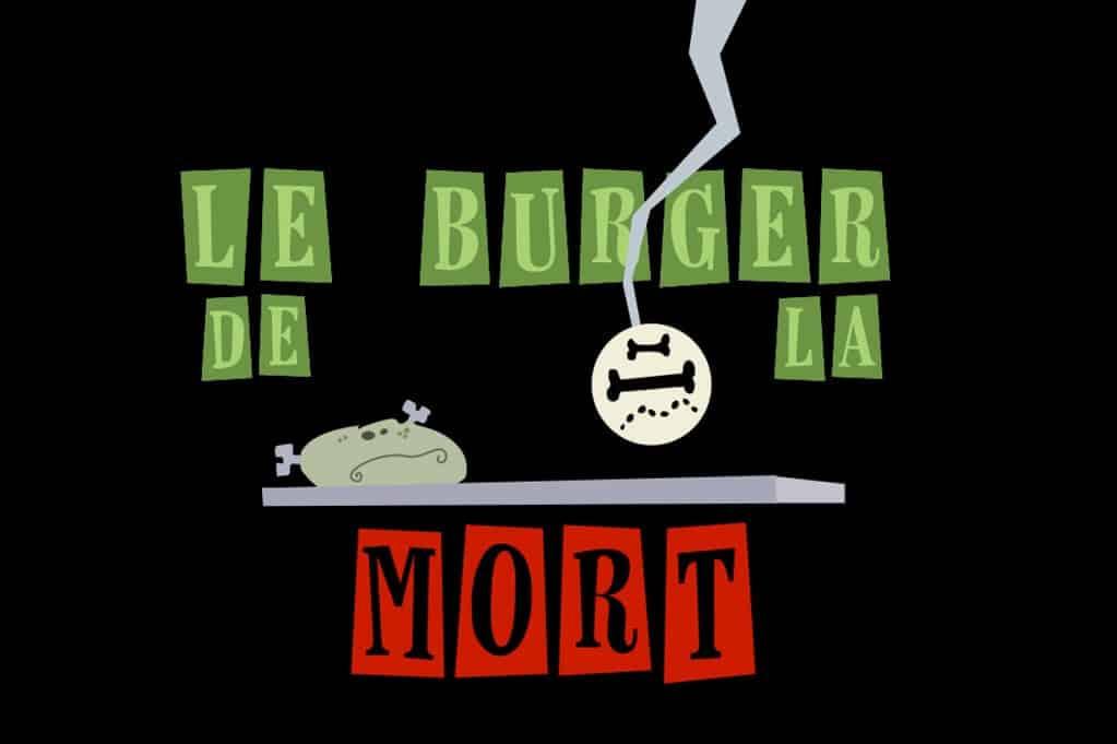 Le burger de la mort du jeu Burger Quizz