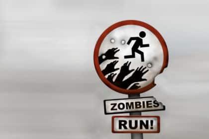 Illustration de l'application Zombies Run !