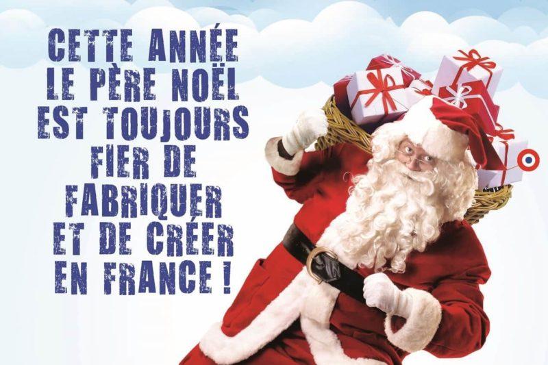 Le père Noël fabrique ses jouets en France