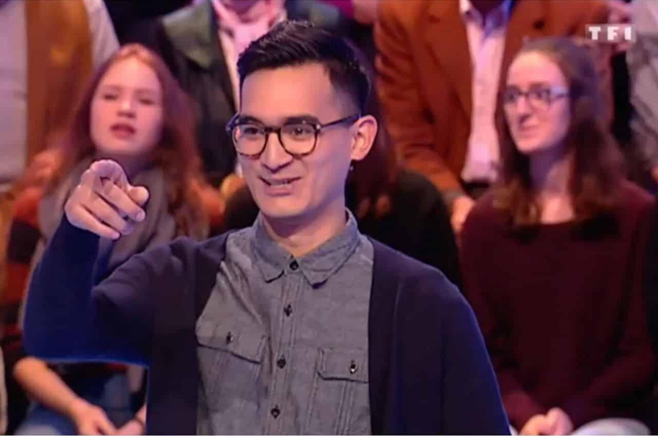 Martin, candidat de l'émission de Jean-Luc Reichmann