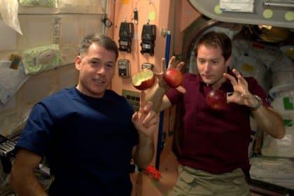 Thomas Pesquet jongle dans l'espace