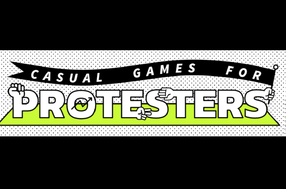 Game for protest