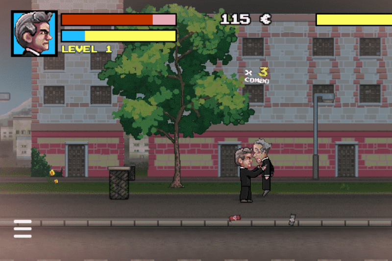 Capture du jeu vidéo Fiscal Kombat
