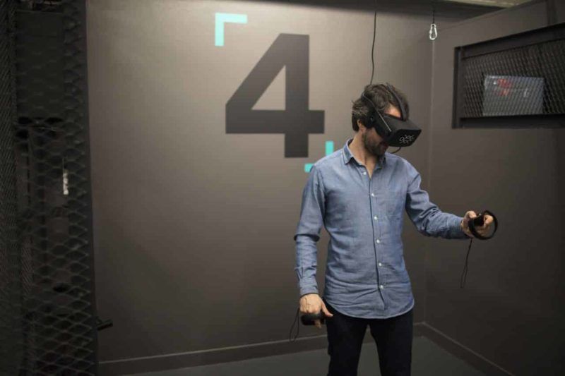 Expérience de réalité virtuelle