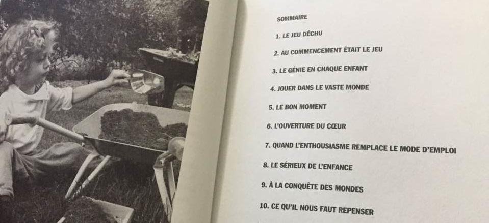Une page du livre André Stern