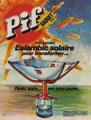 Couverture de Pif avec l'alambic solaire