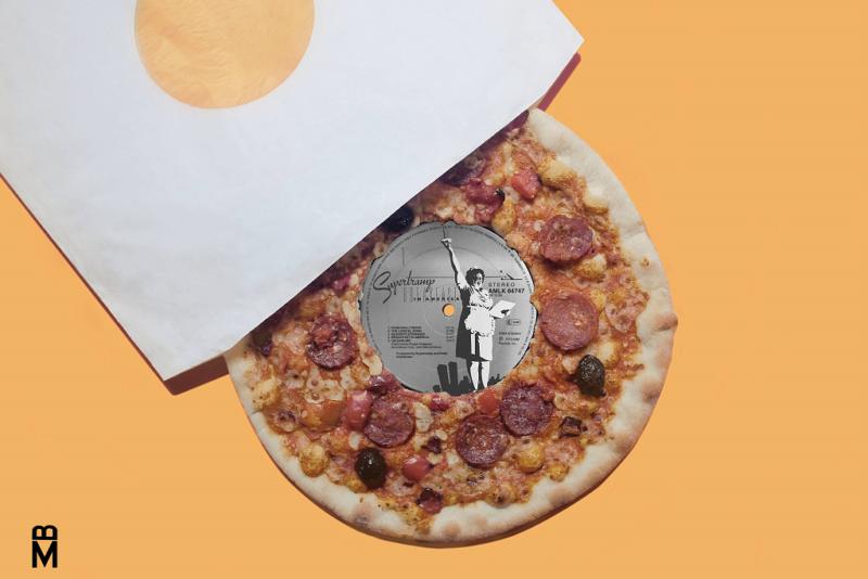 Pizza-vynil de Beurk Magazine