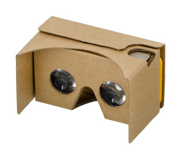 Casque de VR Google en carton