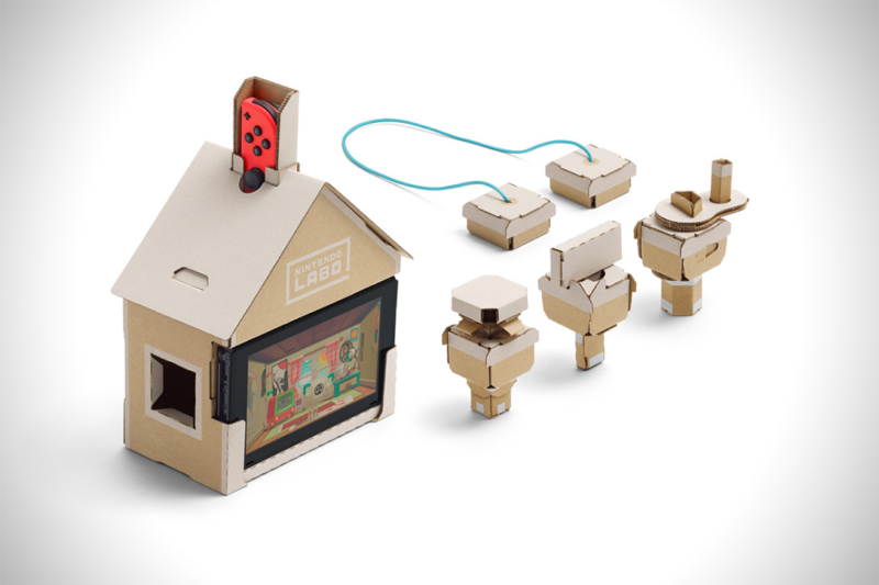 Maison en carton Nintendo Switch