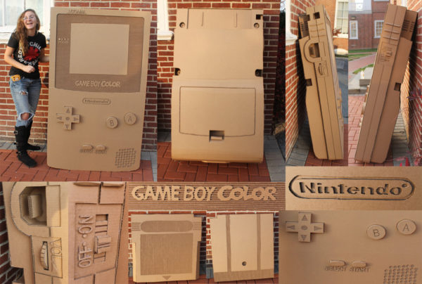 Gameboy Color en carton