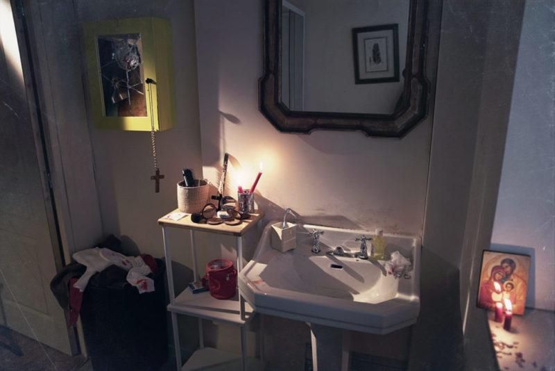 La salle de bain du jeu Le Secret de Laurence