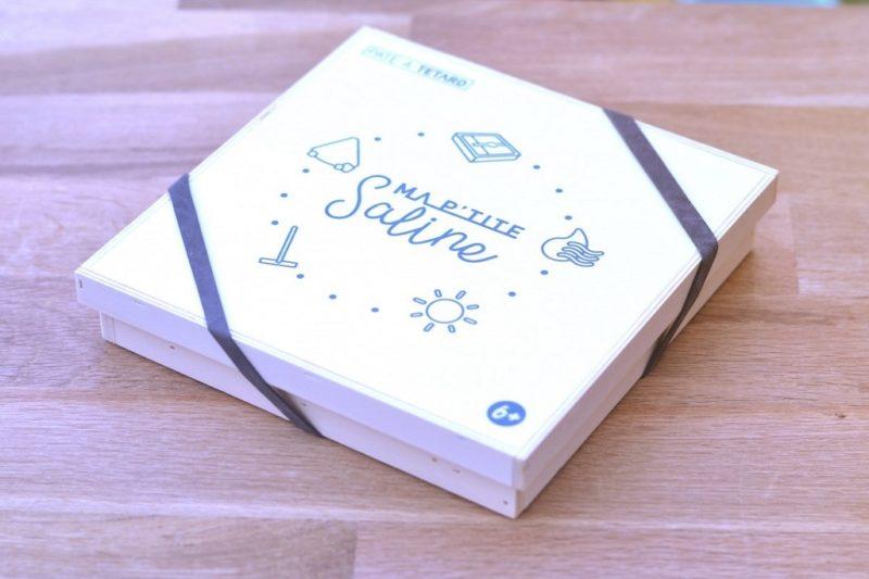 Une boîte de jeu de Ma p'tite Saline