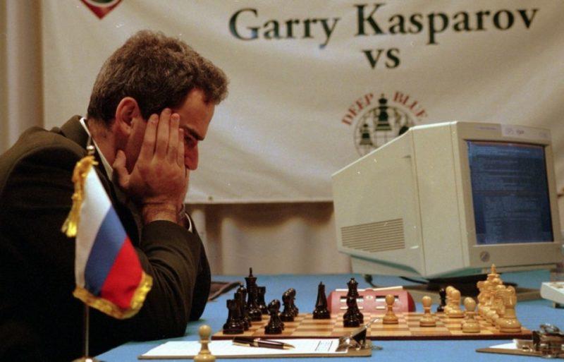 Kasparov et Deep Blue